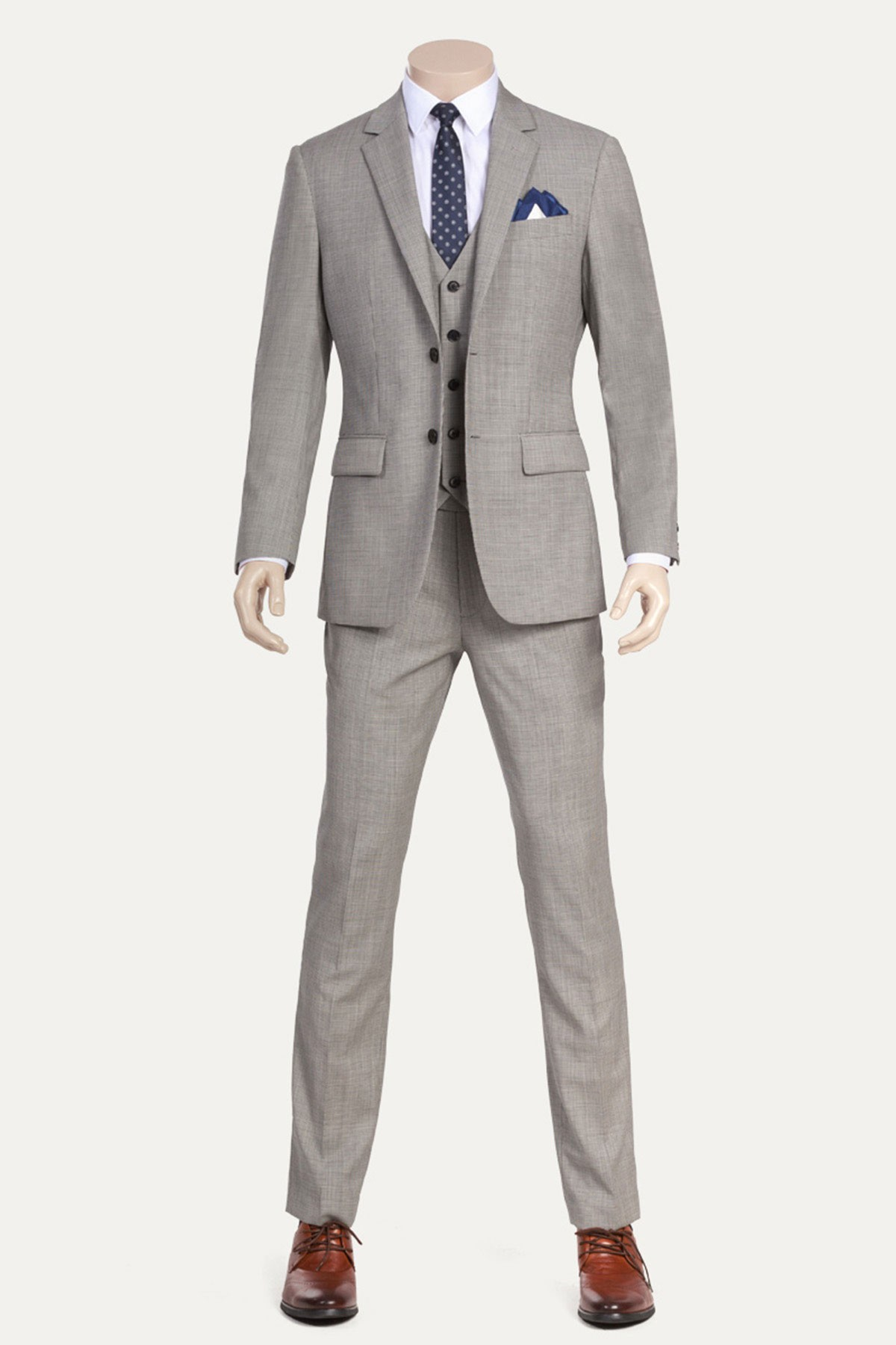 Cocomelody Houndstooth Three Piece Suit Id 845