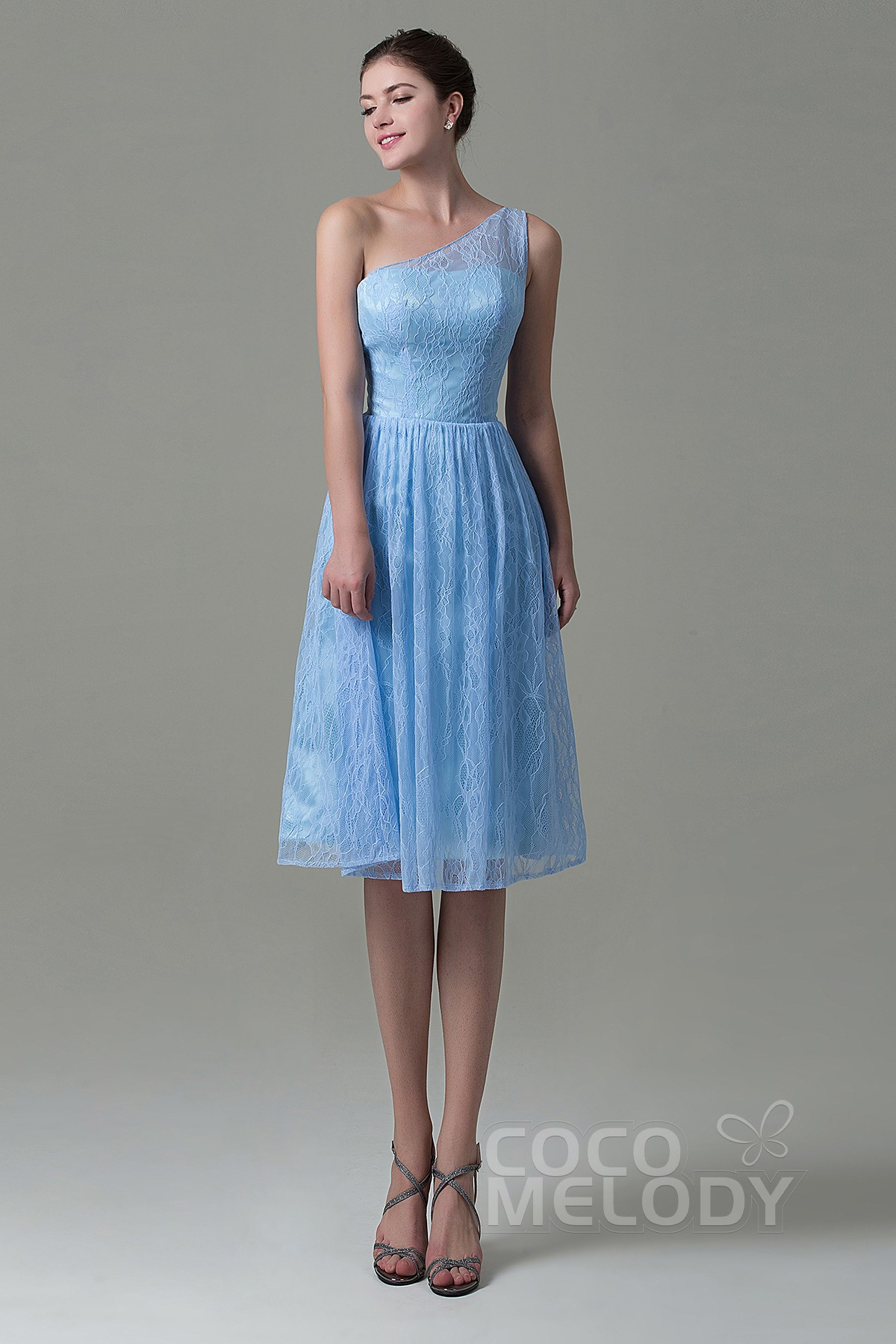 Sears canada bridesmaid dresses fancy one shoulder natural knee length lace sleeveless lace up corset ombrellifo Gallery