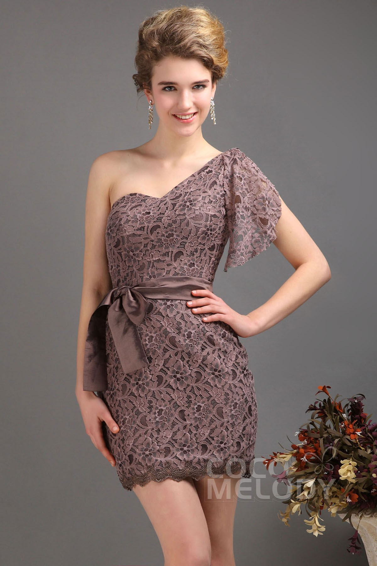 Sequined Lace One Shoulder Dress. Color: Size Chart. Opens size chart modal. Waist Length. Please select a color and size. ITEM ADDED TO BAG Checkout. Add to My Favorites. find in store. Free shipping on orders over $75, plus free returns in xianggangdishini.gq Details. Top of .