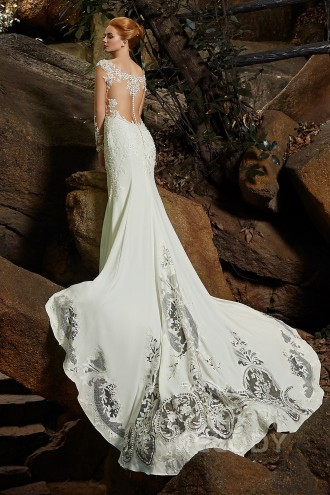 Trumpet Wedding Dresses Mermaid Wedding Gowns Cocomelody