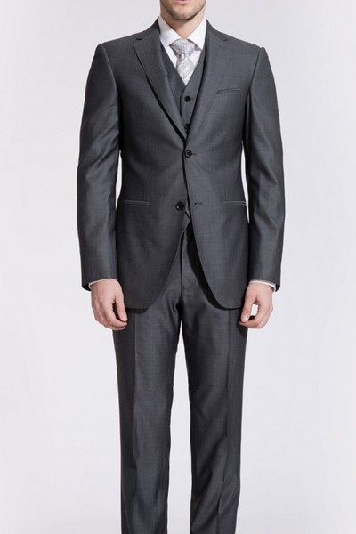 Otto Flint Gray Reda Two-piece Suit ID-168
