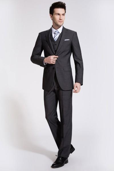 Flint Gray Two-Piece Suit ID-174