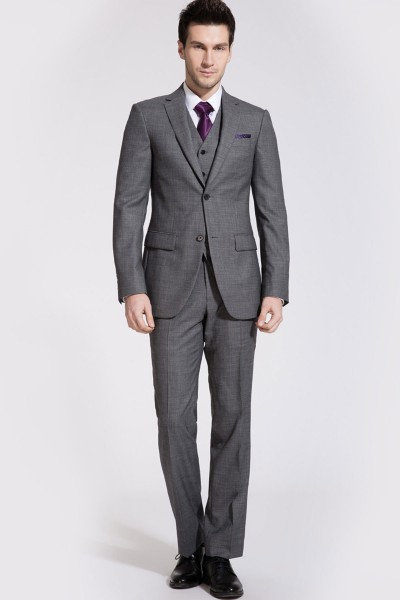Windsor Flint Gray Two-Piece Suit ID-182