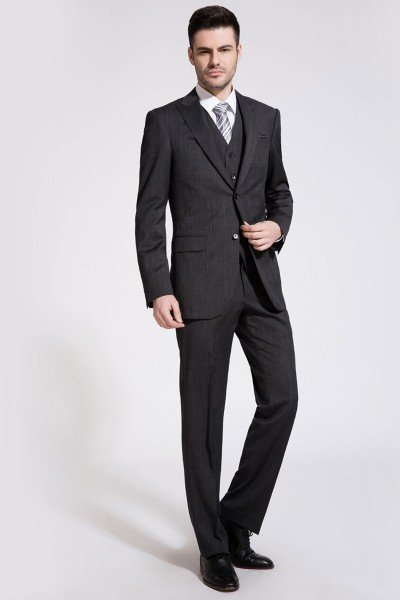 Black Two-Piece Suit ID-202