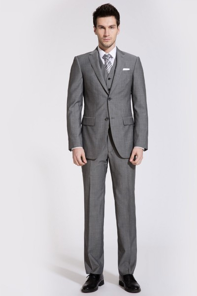 Black Three-Piece Suit ID-55