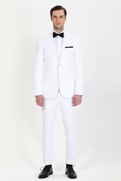 Fashion White Two-piece Suit ID-802