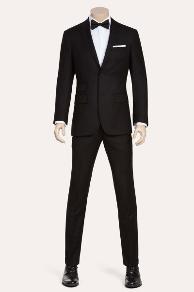 Black Two-Piece Suit ID-878