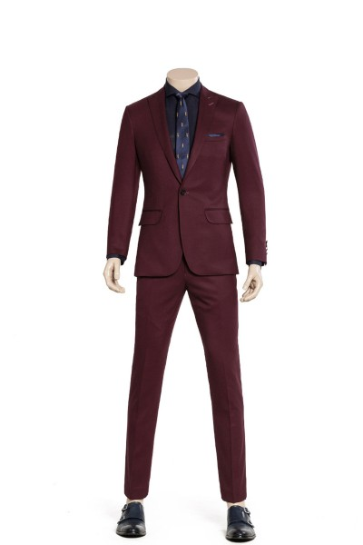 Wine Fashion Two-piece Suit ID-982