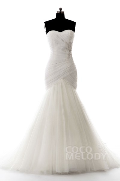 cocomelody stylish trumpet amp mermaid wedding dresses