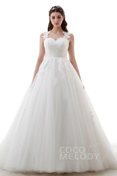 Trendy A Line Wedding Dresses at Great Prices | CocoMelody.com