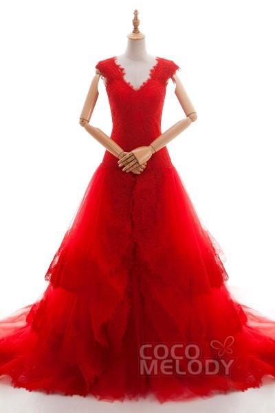 Red Dresses Wedding