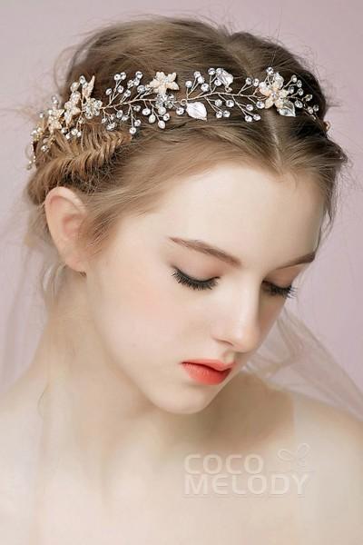 Cocomelody Vintage Wedding Headpieces Cheap Wedding