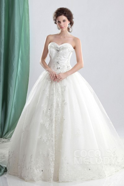 Princess Ball Gown Wedding Dresses | CocoMelody.com