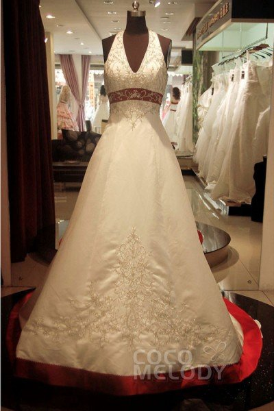 Cocomelody Cheap Empire Wedding Dresses Empire Waist Wedding