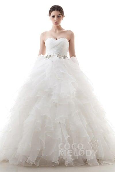 Princess Ball Gown Wedding Dresses | CocoMelody.com