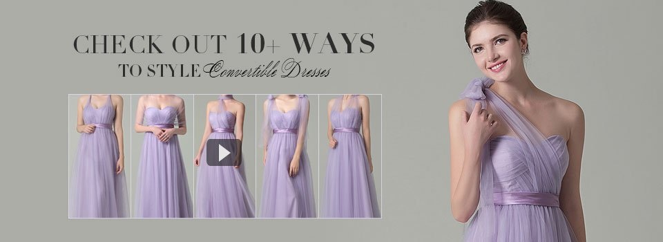 Convertible Infinity Bridesmaid Dresses