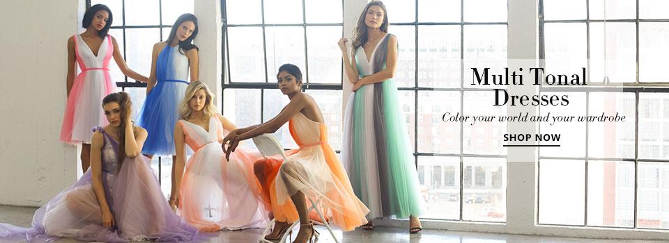 Multi Tonal Dresses