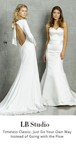 Custom Designer Beach Wedding Dresses, Lace Wedding Dresses & More